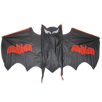 Fresco pipistrello nero aquilone all'aperto regalo giocattolo intrattenimento per il capretto