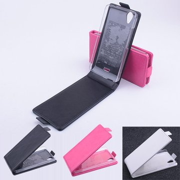Flip Up-down Leather Magnetic Protective Case For Explay Air