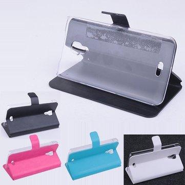 Capovolgere custodia protettiva in pelle magnetico per MyPhone rio-lite
