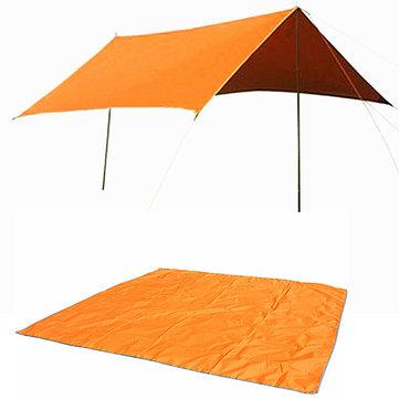Naturehike 3-4 Person Зонт Палатка Мат Оксфорд ВС Укрытие брезент Навес Навес с мешком