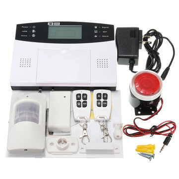 DY-GSM30A Wireless LCD GSM Intelligent Home Security Burglar Voice Protect House Alarm