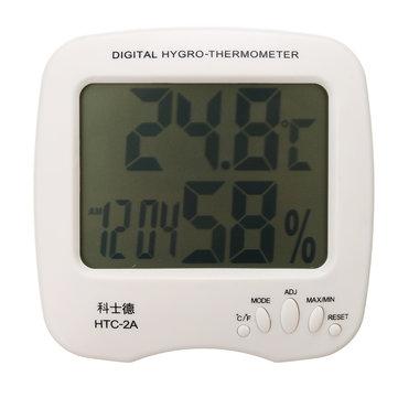 LCD Dispaly Dijital Kapalı Sıcaklık Termometre Nem Higrometresi Monitör