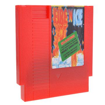 72 pin cartuccia carta di gioco a 8 bit fuoco ' n ghiaccio per Nintendo NES