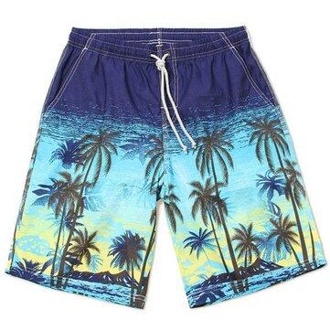 Para hombre de secado rápido pantalones cortos impermeables playa Vacaciones en la playa El quinto ocasional natación pantalones sueltos