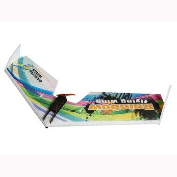 DW HOBBY Rainbow V2 Versión 800mm PPE envergadura kit de avión de ala volante FPV RC
