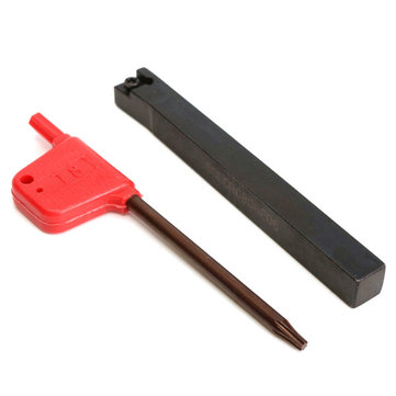 SCLCR0808F06 8 x 80mm Lathe External Turning Tool Holder with Wrench