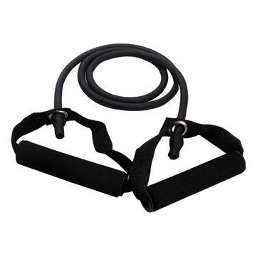 La banda di resistenza tende il tubo d'idoneità per yoga di allenamento