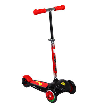 Ferrari FXK3 Kids Twist Scooter Verstelbare Anti Slip Light Gewicht Aluminium Steel Ring Column