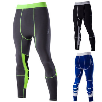 Buy Men's Sports Training Tight Pants Quick Drying Elastic Cyclingpants Tight-fitting Trousers