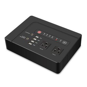 110V 42000mA แบตฯ แบบพกพาทั่วไป AC / DC โซลา ซ็อกเก็ต USB แหล่งจ่ายพลังงานไฟฟ้า