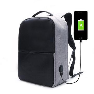 Ekphero® Men Anti Thief Rugzak Waterdichte Reis Bag Met USB Laadpoort