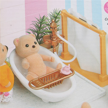 1:12 Simulation Bathroom Play House Props Dollhouse Creative DIY Material