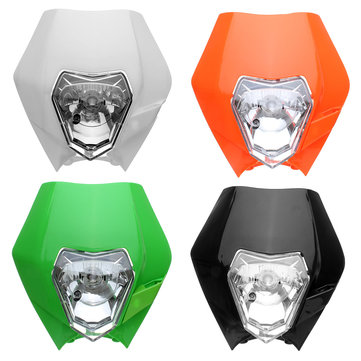 Headlight Fairing Headlamp Cover With Bulb For KTM SX EXC XCF SXF SMR Motorcycle