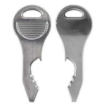 المقاوم للصدأ مفتاح قلادة مزيج من الأدوات الصغيرة في متعددة الأغراض بقاء اللوازم إدك