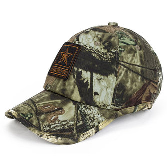 Men Camouflage Embroidery Cotton Baseball Cap Summer Outdoor Sunshade Visor Snapback Hat