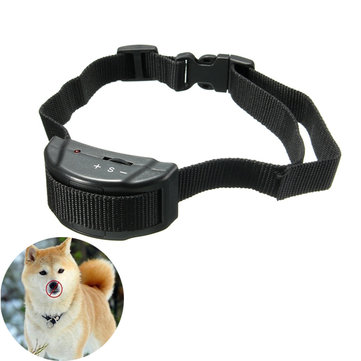 Pet Dog Training Collar Anti Bark No Barking Tone Shock for Small Medium Dog 5-150lb