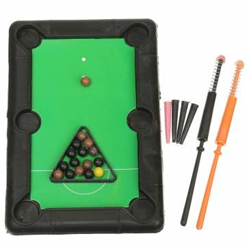 Plastic Mini Billiard Ball Table Top Pool Table Desktop Ball Club Kids Toys  Gift