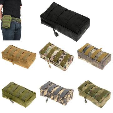 Molle 21x11x6CM 600D Multifunctionele Outdooors Fishing Bag Visserij Backpack