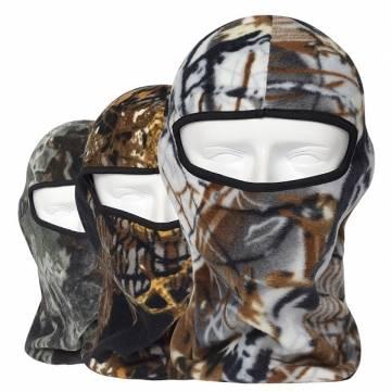 Camo térmica de lã balaclava ao ar livre máscaras de esqui capuzes caça cs Tactical máscaras