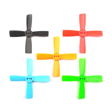 10 Pairs Racerstar 2035 50mm 4 Blade Propeller 1.5mm Mounting Hole For...
