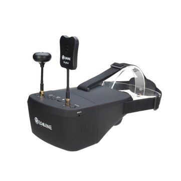 Eachine EV800D 5.8G 40CH Diversiteit FPV Goggles 5 Inch 800 * 480 Video Headset HD DVR Inbouwen Batterij