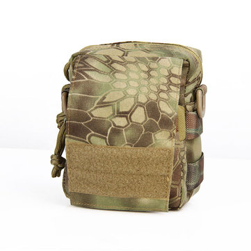 GELOOF PRO Outdoor Camping Tactical Wasit Bag Pack EDC Molle jachtcamouflage Pouch Multi-functies