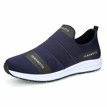Мужчины Breathable Slip On Мягкие купальники Casual Sneakers