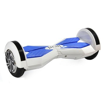 Q6 158wh Lithium Battery  8 Inch Solid Tyre Electric Twisting Scooter with Bluetooth and Led Lights
