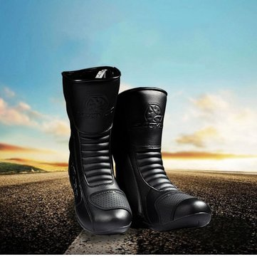 SCOYCO KnightBoots Cross Country Riding Shoes Motorcycle Racing Boots MBT008