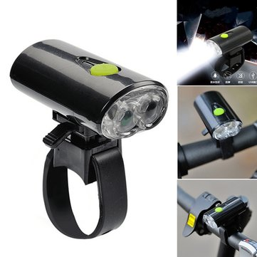 USB Rechargeable LED Bike Head Front