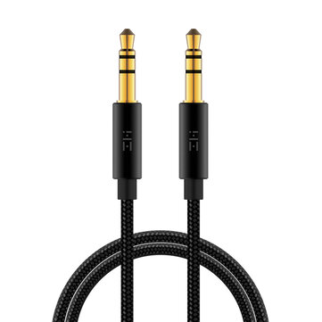 Buy ZMI AL103 Braided 3.5mm Jack Audio Cable Gold Plated 3.5 mm Male to 3.5mm Male Aux Cable for Mobile for $2.99 in Banggood store