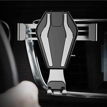Bakeey Gravity Linkage Auto Lock Car Air Vent Phone Holder Stand for Samsung iPhone Mobile Phone