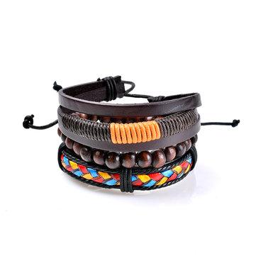3 Pcs Bracelet Homme Bracelet Bohémien Bracelet Bracelet Braisé pour Cadeau Mode Homme