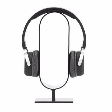 Buy Acrylic Headphone Headset Earphone Showing Stand Desk Hanger Holder Display Rack for $8.48 in Banggood store