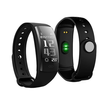 KALOAD QS90 0.96 Inch OLED Heart Rate Blood Pressure Monitor Waterproof Smart Sports Bracelet Watch