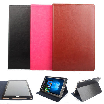 Folding Stand PU Leather Case Cover