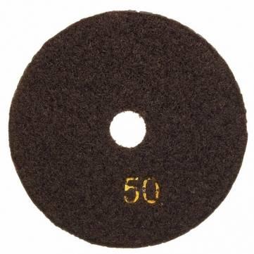 4 Inch Grit 50# Wet Trapezoid Teeth Flexible Diamond Polishing Pad