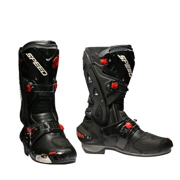 Motorcycle Boots Racing Speed Cycling Safety Shoes Pro-biker B1003