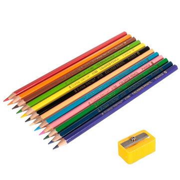12 Colors Art Oil Base Non-toxic Drawing Pencils Set For Artist Sketching