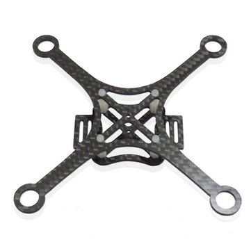 120mm carbon fiber diy micro mini fpv quadcopter frame kit 2mm thickness 85x20mm coreless motor