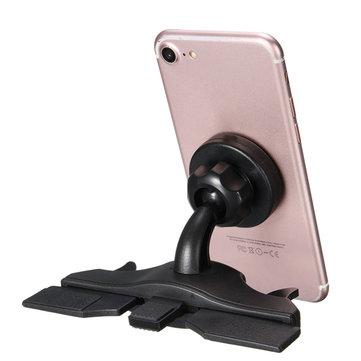Universal Magnetic Car CD Slot Holder Mount Stand For Phone Tablet GPS