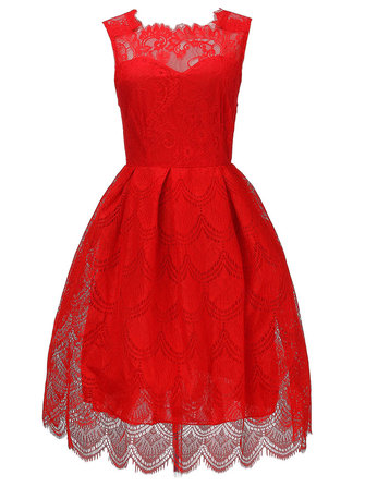 Sexy Lace Sleeveless Women Party Ball Gown Women Mini Dress