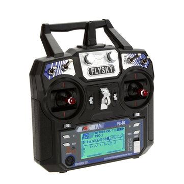 FlySky i6 FS-i6 수신기가없는 2.4G 6CH AFHDS RC 송신기