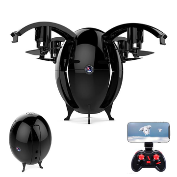 JDRC JD-22W JD22W FLYING EGGS 720P WIFI FPV Altitude Hold Folding RC Drone Quadcopter