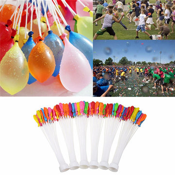 Christmas Water Balloon 6 Bunches = 222 stks Munitie Bommen Zomer Tuin Fun bal speelgoed Games Kids Party
