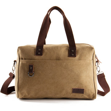 Big Capacity Travel Handtas Canvas Zakelijke Crossbody Bag voor mannen