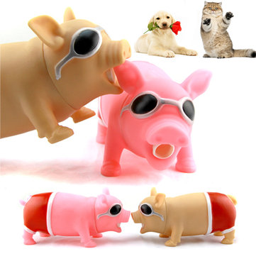 Multi-Shape Screaming Pig Tongue Doll Toys Tricky Vent Style Verminder Stress Speelgoed Voor Kids Birthday Gi
