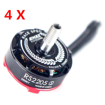 4x Emax RS2205S 2300KV Racing Edition Brushless Motor for RC Drone FPV Racing