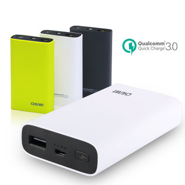 [Qualcomm Certified] CHUWI 10050mAh 18W Two-way Quick Charge QC3.0 Power Bank For Apple Android