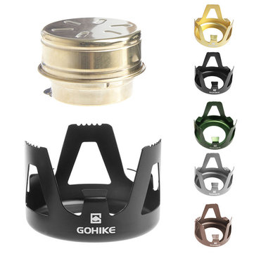 GOHIKE Draagbare Mini Alcohol Burner Kachel Oven Outdoor Backpacking Wandelen